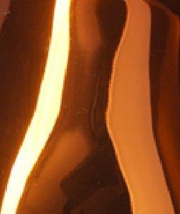 Candy Oranje Goud transparant Hoogglans