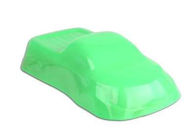 Groen Fluorescent poedercoating poeder