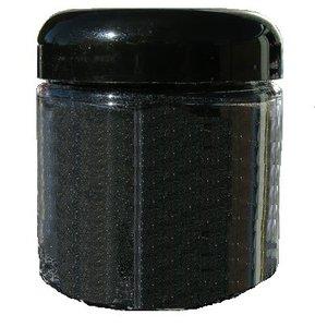Zwart metallic flake additief