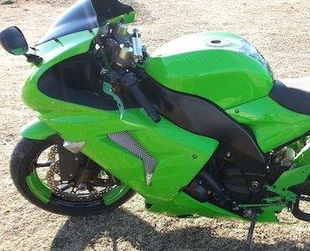 Kawasaki groen Hoogglans