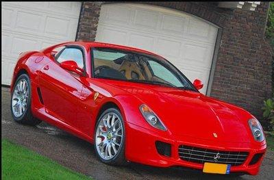 Ferrari rood Hoogglans